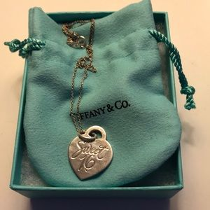 """Tiffany & Co """"Sweet 16"""" necklace"""